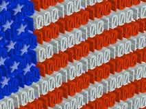 Amerikanische Technologien lizenzfreie abbildung