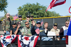 Amerikanische Veterane Stockfoto
