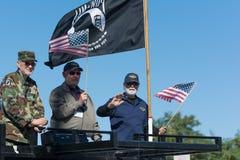 Amerikanische Veterane lizenzfreie stockbilder