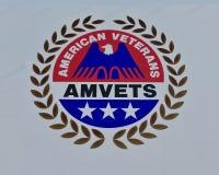 Amerikanische Veterane des Emblems Vereinigter Staaten Stockfotos