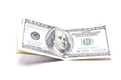 Amerikanische Währung stockfoto