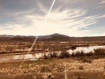 Amerikanische Westwolken stockfotos