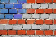 Amerikanische Ziegelsteine stockfoto