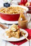 Amerikanischer Apfelkuchen lizenzfreies stockfoto