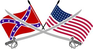 Amerikanischer Bürgerkrieg Stockbilder