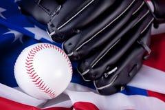 Amerikanischer Baseball stockbild