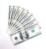 Amerikanischer Dollar Stockfoto