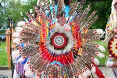 Amerikanischer Eingeborener Stockfotografie