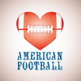 Amerikanischer Fußball vektor abbildung