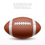 Amerikanischer Fußball Stockfotografie