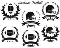 Amerikanischer Fußball Stockbild