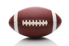 Amerikanischer Fußball auf Weiß Lizenzfreies Stockfoto