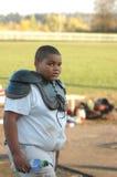 Amerikanischer Fußball-Spieler Lizenzfreie Stockfotografie