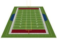Amerikanischer Fußballplatz Stockbilder