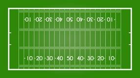 Amerikanischer Fußballplatz Lizenzfreie Stockbilder