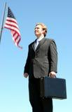 Amerikanischer Geschäftsmann lizenzfreies stockfoto