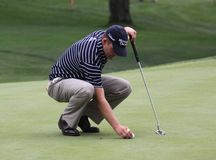 Amerikanischer Golfspieler Jason Bohn Lizenzfreie Stockbilder