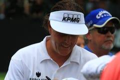 Amerikanischer Golfspieler Phil Mickelson Stockfoto