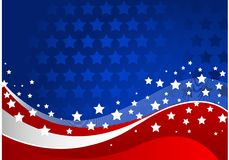 Amerikanischer Hintergrund Stockfotografie