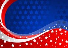 Amerikanischer Hintergrund Lizenzfreies Stockfoto