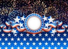 Amerikanischer Hintergrund Stockbilder