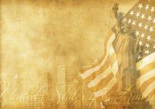 Amerikanischer Hintergrund Lizenzfreie Stockbilder