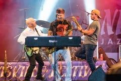 Amerikanischer Jazzsaxophonist Bill Evans Live bei Nisville Jazz Festival, am 13. August 2016 Lizenzfreie Stockfotografie