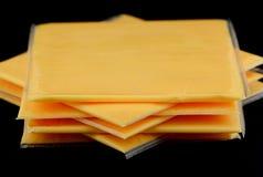 Amerikanischer Käse Lizenzfreies Stockfoto