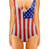 Amerikanischer Körper Lizenzfreie Stockbilder
