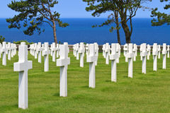 Amerikanischer Krieg-Kirchhof Lizenzfreie Stockfotos