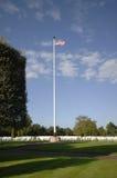 Amerikanischer Krieg-Kirchhof Stockbild