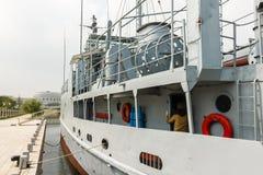 Amerikanischer Kriegsschiff Pueblo lizenzfreies stockfoto