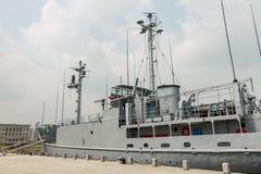 Amerikanischer Kriegsschiff Pueblo stockbild