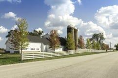 Amerikanischer Landbauernhof stockfotografie