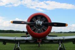 Amerikanischer Luftwaffenkämpfer des alten Kämpfers Lizenzfreies Stockfoto