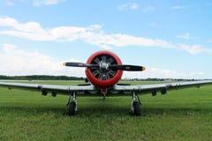 Amerikanischer Luftwaffenkämpfer des alten Kämpfers Stockfotos