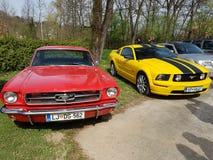 Amerikanischer Muskelauto Mustang Lizenzfreie Stockfotografie