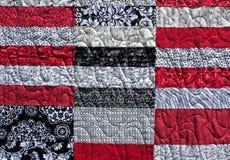 Amerikanischer Muster-Steppdecke-Hintergrund Lizenzfreies Stockfoto