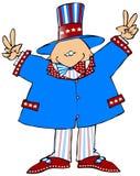 Amerikanischer Politiker vektor abbildung