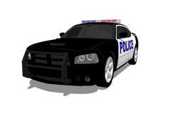 Amerikanischer Polizeiwagen vektor abbildung