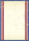 Amerikanischer Rahmenhintergrund Lizenzfreie Stockbilder