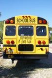 Amerikanischer Schulbus Stockfotos