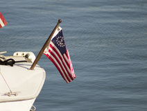 Amerikanischer Seemann Flag Stockfotos