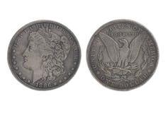 Amerikanischer silberner Adler eine Dollarmünze Lizenzfreie Stockfotos