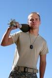 Amerikanischer Soldat Stockfoto