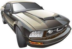 Amerikanischer Sportwagen lizenzfreie abbildung