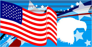 Amerikanischer Stolz Lizenzfreie Stockbilder