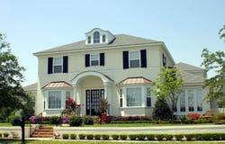 Amerikanischer Traum-Haus lizenzfreies stockbild