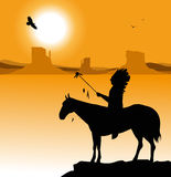Amerikanischer Ureinwohner Lizenzfreie Stockfotos