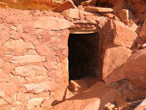 Amerikanischer Ureinwohner historische Anasazi Ruine Lizenzfreie Stockfotos